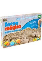 Arena Mágica 1 Kgr. con Accesorios 10 piezas