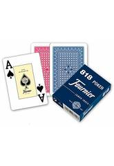 Baraja de Cartes 818 Poker 55 Cartes Fournier F21643