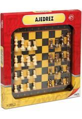 Tablero Madera Ajedrez 33x33 y Acc. Cayro 098