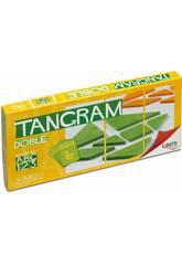 Jogo de tabuleiro Tangram Double Cayro 123 / D