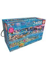 Puzzle 24000 Vida Educa 13434