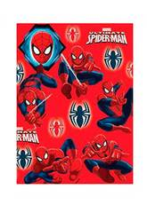 Papel de Regalo Spiderman 200 x 70 cm.