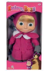 Masha Boneca Inverno 40 cm.