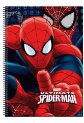 Bloc A4 80 Hojas Spiderman