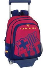 Sac à dos avec Trolley F.C Barcelone