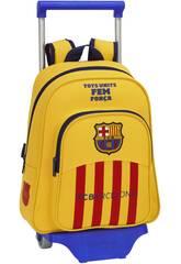 Mochila Infantil con Ruedas F.C. Barcelona 2ª Equ.