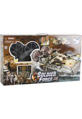 Soldier Force Overcraft Avec Figurines
