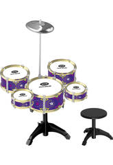 Bateria Jazz 5 Tambores y Platillo