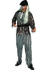 Disfraz Pirata Malvado Hombre Talla L