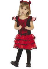 Costume Diavoletto Ragnatela Bebè S