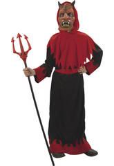 Disfraz Niños L Guerrero Demonio