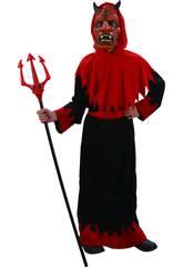 Disfraz Niños S Guerrero Demonio