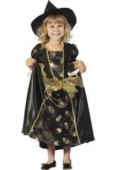 Costume Streghetta con Teschi Bimba M
