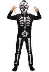 Déguisement Garçon Squelette Jour Des Morts