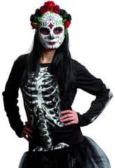 Máscara Catrina Flores