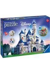 Puzle 3D Castillo Disney 216 Piezas Ravensburger 12587