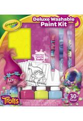 Kit Trolls Peinture Deluxe Crayola