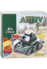 Juego de Construcción Tanque Militar 26 Piezas