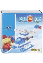 Police Elicottero della Polizia 28 pezzi