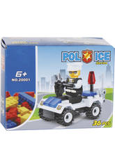 Voiture Police 29 Pièces