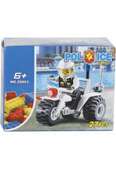 Moto Polizia 27 pezzi