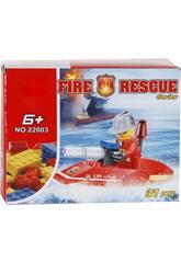 Fire Rescue Moto d'acqua 31 pezzi