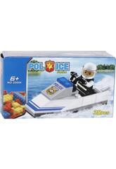 Moto Aquatique De Police 38 Pièces