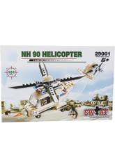 Juego de Construcción Helicóptero Militar NH 90 de 181 Piezas