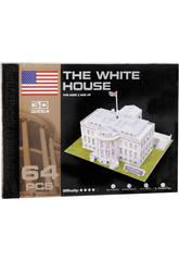 Puzzle 3D La Maison Blanche 64 pièces