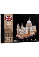 Puzzle 3D Cathédrale Saint Paul 107 pièces