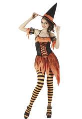 Kostüm Halloweenhexe Frau Größe XL