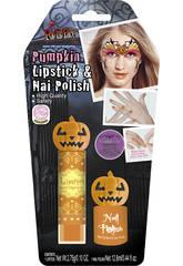 Laque Ongles et Rouge À Lèvres Halloween