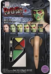 Set Maquillaje Bruja