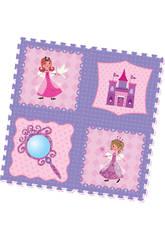 Set Eva Puzzle Princesas 4 Peças