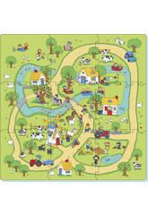 Set Eva Puzzle 9 piezas Granja