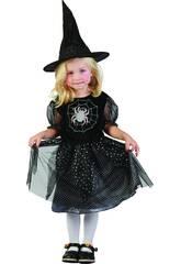 Disfraz Bruja Araña Bebé Talla S