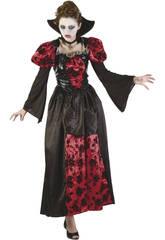 Kostüm Gotischer Vamp Frau Größe L