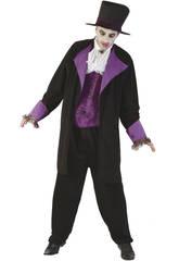 Kostüm Vampir Duque Mann Größe L