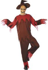 Kostüm Kürbis de Feuer Mann Größe L