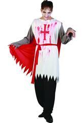 Kostüm Blutbeschmierter Ritter Mann Größe L