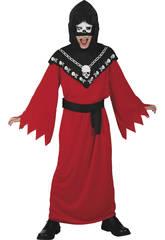 Kostüm Henker Skelett Junge Größe S