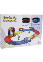 Circuito Infantile Di Corse Con 2 Macchine