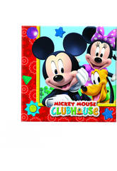 Mickey Mouse pack 20 servillettes 33x33 cm
