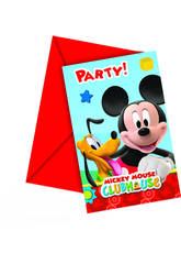 Mickey Mouse Pack 6 Invitationes
