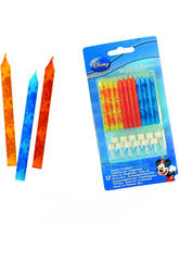 Mickey Mouse pack 12 Bougies