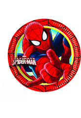 Spiderman pack 8 piatti 20 ml.