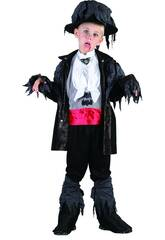 Disfraz Vampiro Zombi Niño Talla L