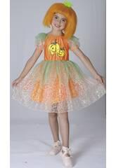 Kostüm Kürbis Mädchen Größe L