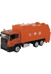 Camión de Juguete 1:43 Recogida de Residuos 22 cm.