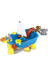 Barco Pirata 53 cm. con Accesorios Playa 12 piezas